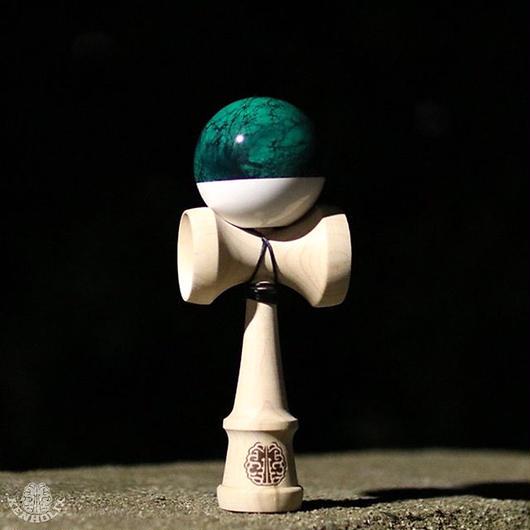 Grunge Marble Mono -GM Green-