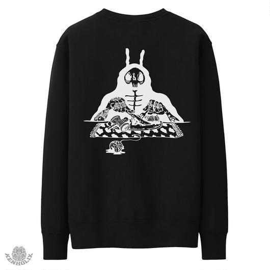 S.O.S. Crewneck Sweatshirt -Black-