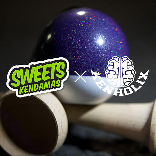Sweets Kendamas × Kenholix Party Prism 70/30 -Purple-