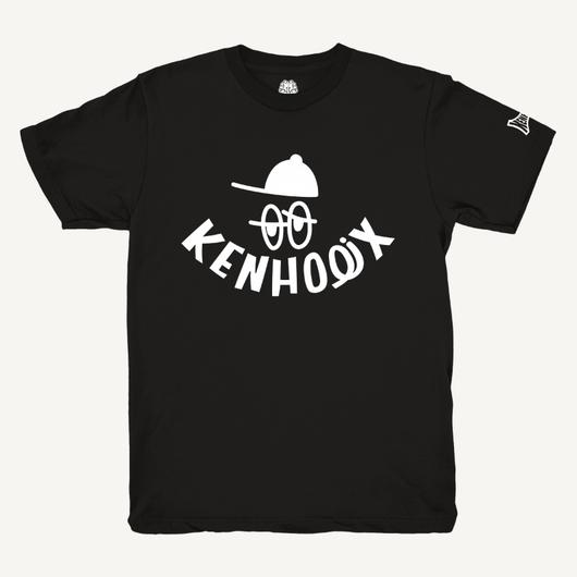 KENHOLIX WHT Label Logo Tee -Black-