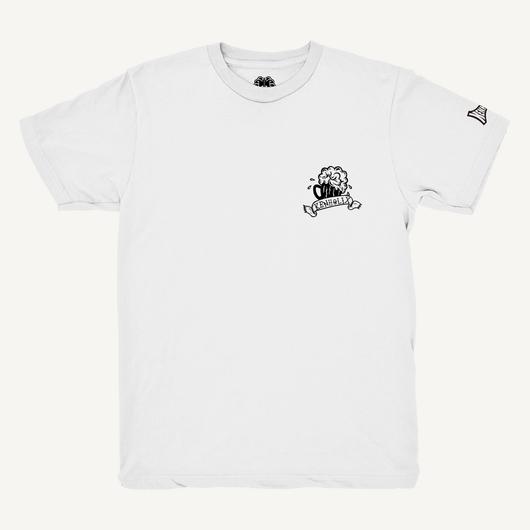 S.O.S. (Snack Of Skull) Tee -White-