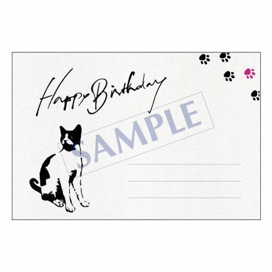 メッセージカード バースデー 14-0679 1セット(10枚)