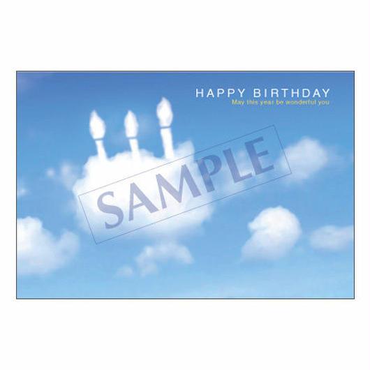 メッセージカード バースデー 07-0212 1セット(10枚)