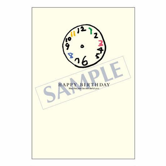 メッセージカード バースデー 07-0224 1セット(10枚)
