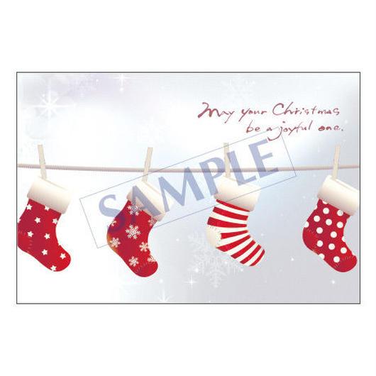 メッセージカード クリスマス 16-0792 1セット(10枚)