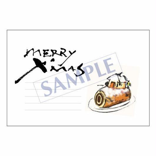 メッセージカード クリスマス 10-0484 1セット(10枚)