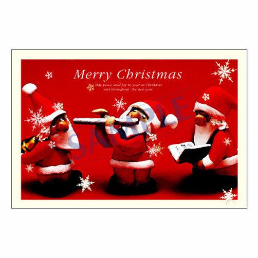 メッセージカード クリスマス 12-0611 1セット(10枚)