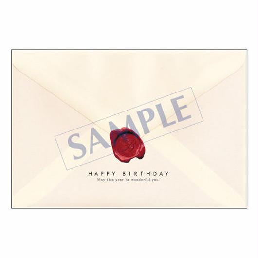 メッセージカード バースデー 08-0350 1セット(10枚)