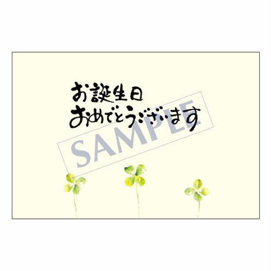 メッセージカード バースデー 14-0668 1セット(10枚)