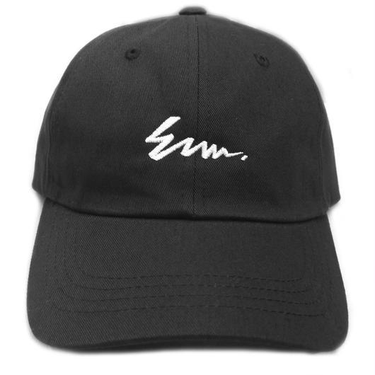 E.M.W.   Cap / イーエムダブリュー キャップ (BLACK)