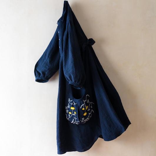 TANSU【Embroidery One-piece Dress】