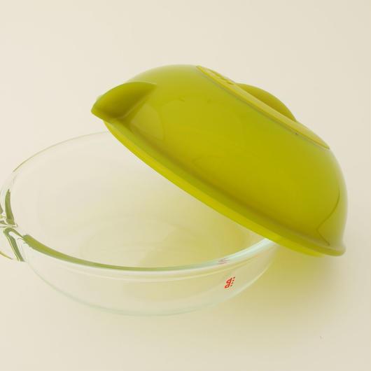 電子レンジ用調理皿ディディ グリーン