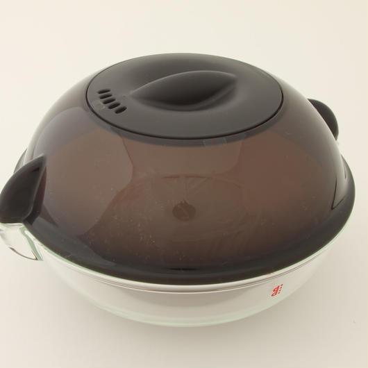 電子レンジ用調理皿ディディ  ブラウン