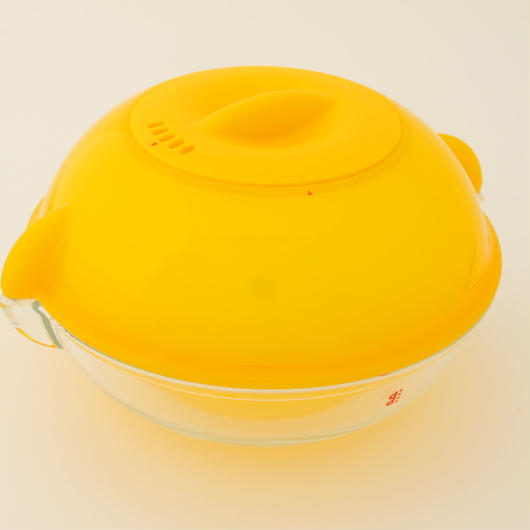 電子レンジ用調理皿ディディ  オレンジ
