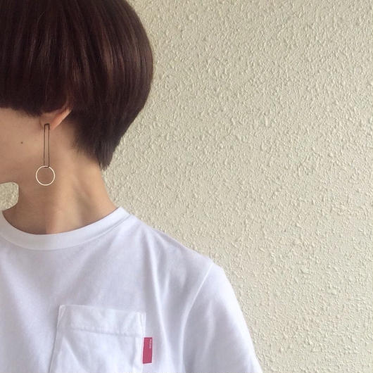 Swing earring  /BK-SV
