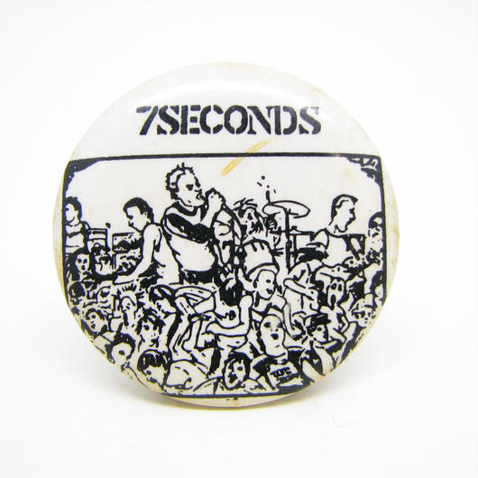 Vintage 7seconds pinbacks 528