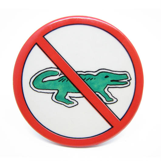 Vintage crocodile pinbacks 539