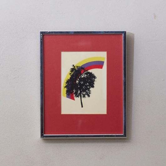 Vintage silkscreen print 064