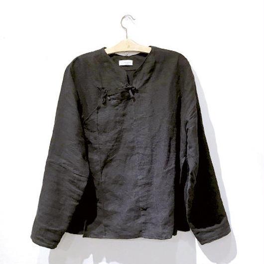旗袍上衣(ブラック)