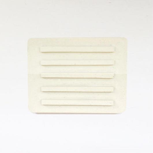 パラス石ソープトレイ(レーン) Pallas stone soap tray(lane)
