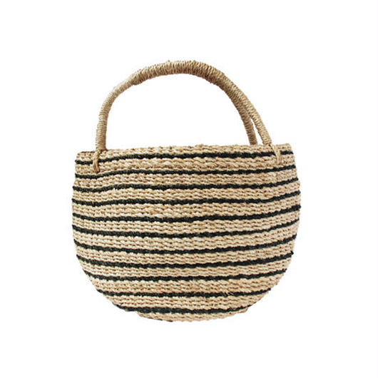 ワイルドバナナバスケット(ブラック)  Wild banana basket (Black)