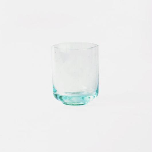 リサイクルガラスの湯呑み  Recycle glass Japanese tea Cup