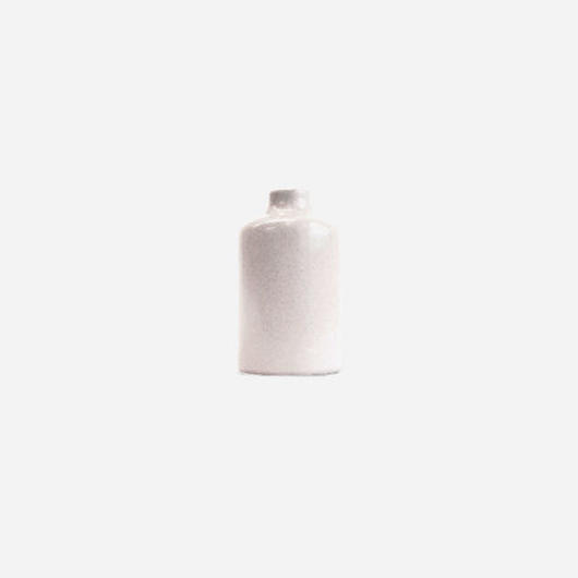 フラワーボトル S(白)  Flower bottle S (white)