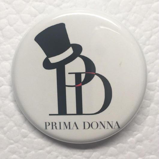 PRIMA DONNA 缶バッジ (ロゴver.)