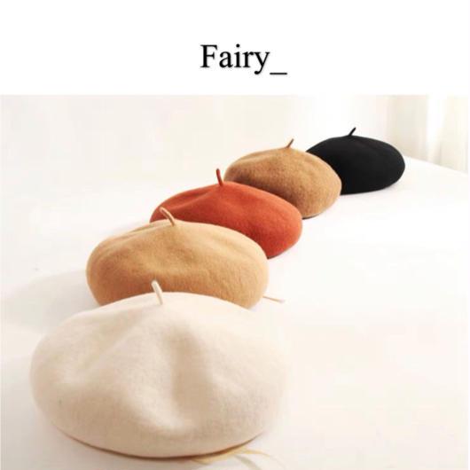 【Q1811008】サイズが自由に調節できる ベレー帽