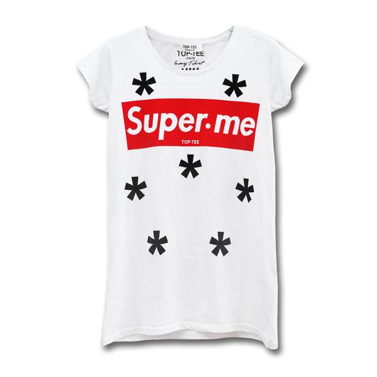 TOP TEE   super・me  XS・S