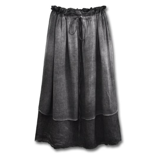un-namable ウォッシュドダブルスカート| XS・S