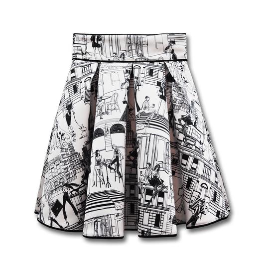 ELISABETTA FRANCHI  リボンベルト付きスカート| 40