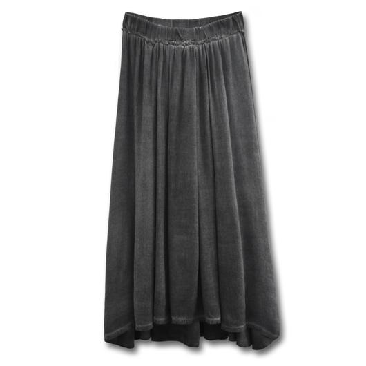 un-namable ウォッシュドプリーツスカート| XXS・XS