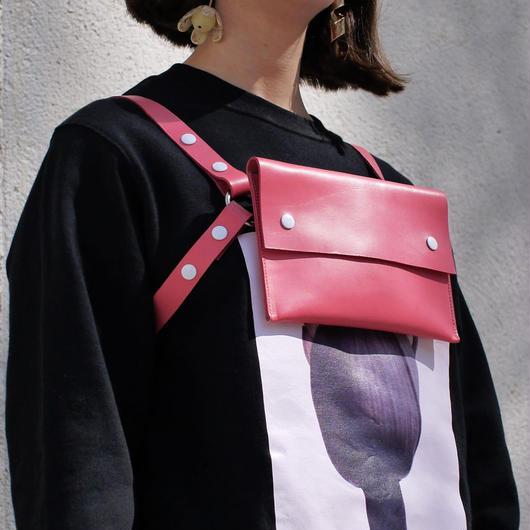 ‹‹ Artém Atelier ›› ハーネス バッグ / ピンク
