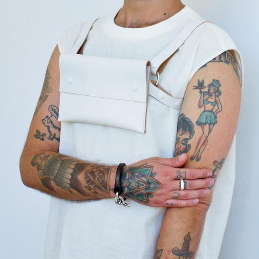 ‹‹ Artém Atelier ›› ハーネス バッグ / イビザ ホワイト
