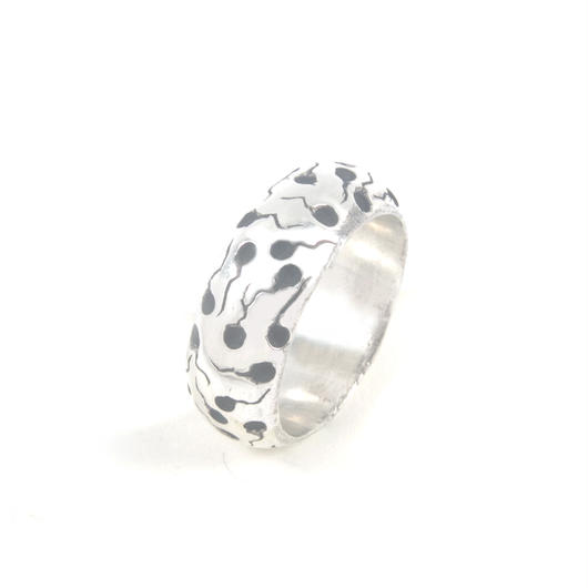 sperm ring typeB silver