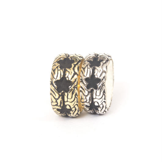 stars brain ring typeb brass
