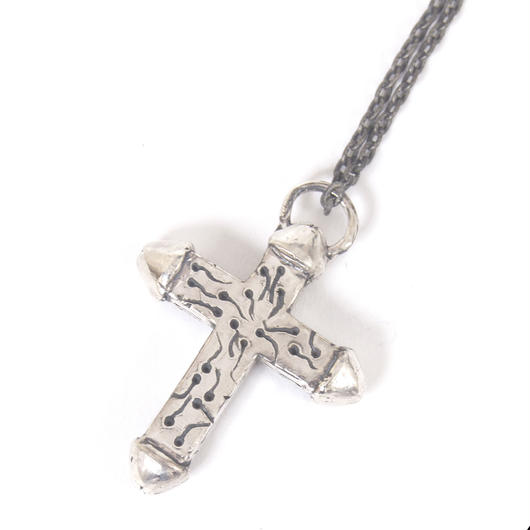 jesus necklace typeD silver