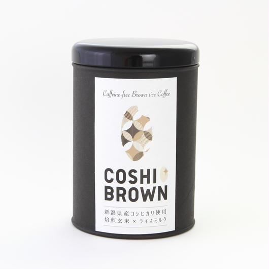 コシヒカリ玄米珈琲「COSHI-BROWN(コシブラウン)」100g