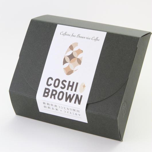 コシヒカリ玄米珈琲「COSHI-BROWN(コシブラウン)」10g  ×5個入パック