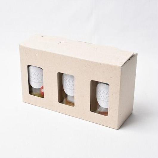 ぽんしゅグリア 3本ギフトセット(ゆず・りんご・もも)