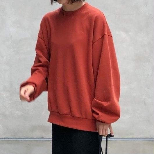 【sold out】bigスウェット deep orange