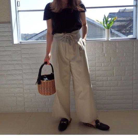 corset wide pants