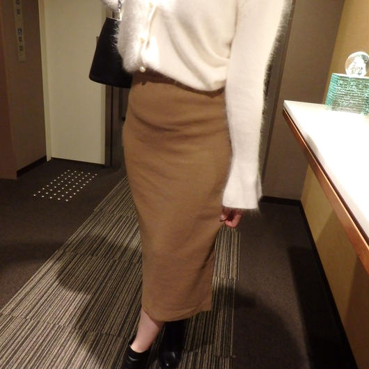 knit tight skirt