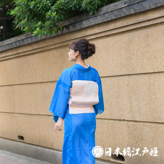 0219 美品☆夏物 名古屋帯 絽 正絹
