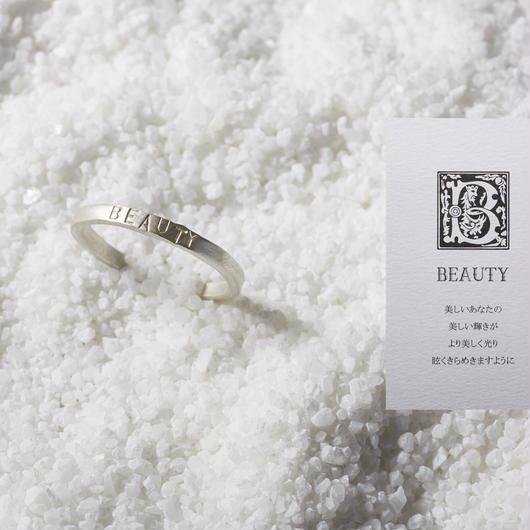 KOTONOHA  リング(S)「BEAUTY」メッセージカード付き