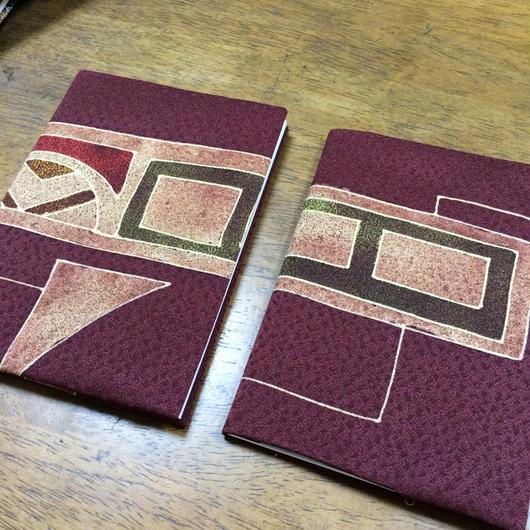 絹カバーA6ノート
