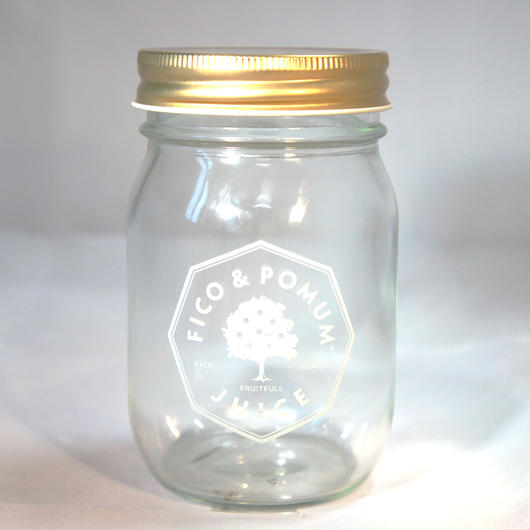 オリジナルグラスジャー(ゴールド)