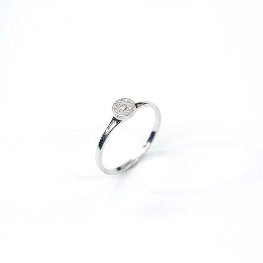 CAV-R02-SV Carve Diamond RingR01