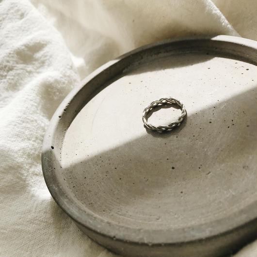 [silver925]Twist ring
